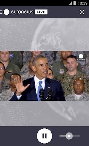 Screenshot 2 euronews LIVE