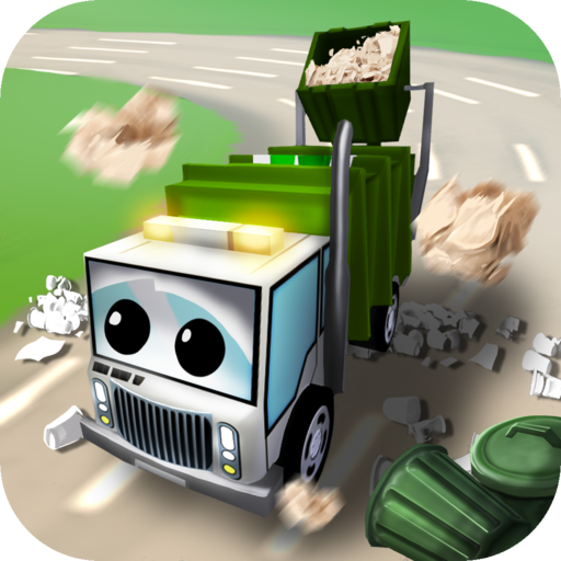 Little Garbage Car in Action LOGO-APP點子