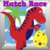 Dinosaur Toddler Match Ad Free