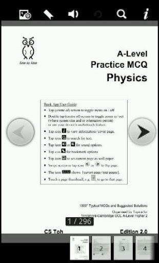 A-Level MCQ Physics H2