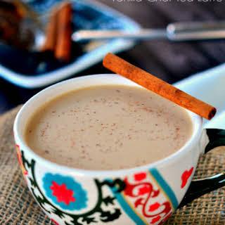 Vanilla Chai Tea Latte.