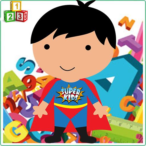 SuperKids 学习数学 LOGO-APP點子