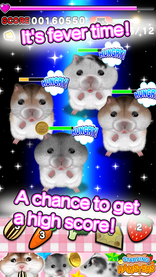 Starving Hamster- screenshot