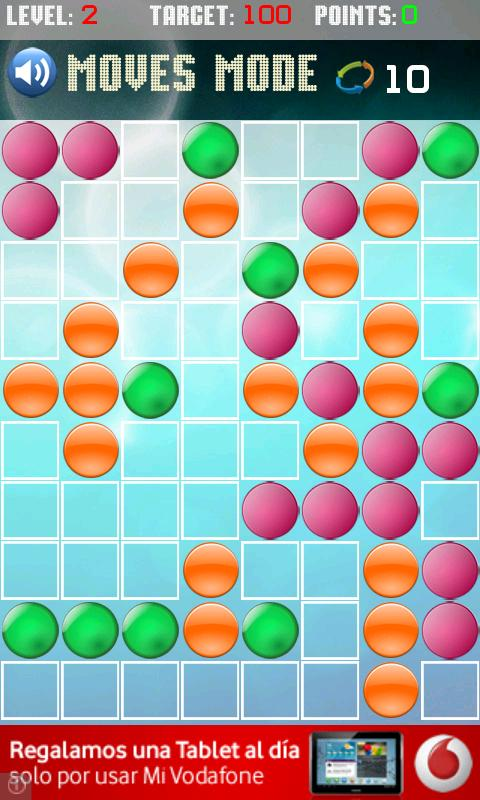 Line colors game free - screenshot