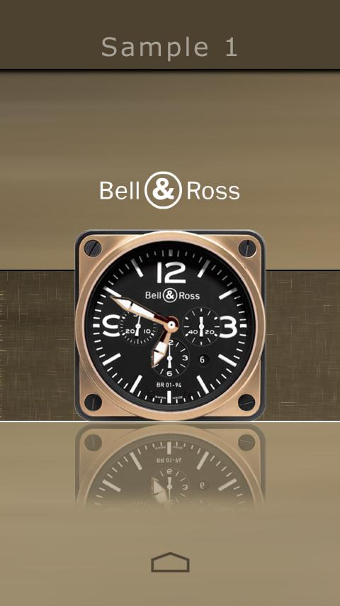 Analog Clock Skins UCCW - screenshot