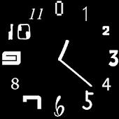 Analog Clock ι White