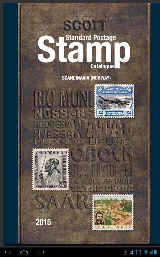 Scott Postage Stamp Catalogue- screenshot