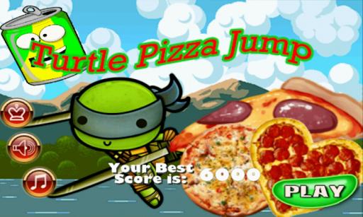 Turtle Pizza Jump Free
