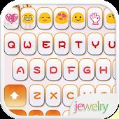 Love Jewelry Emoji Keyboard