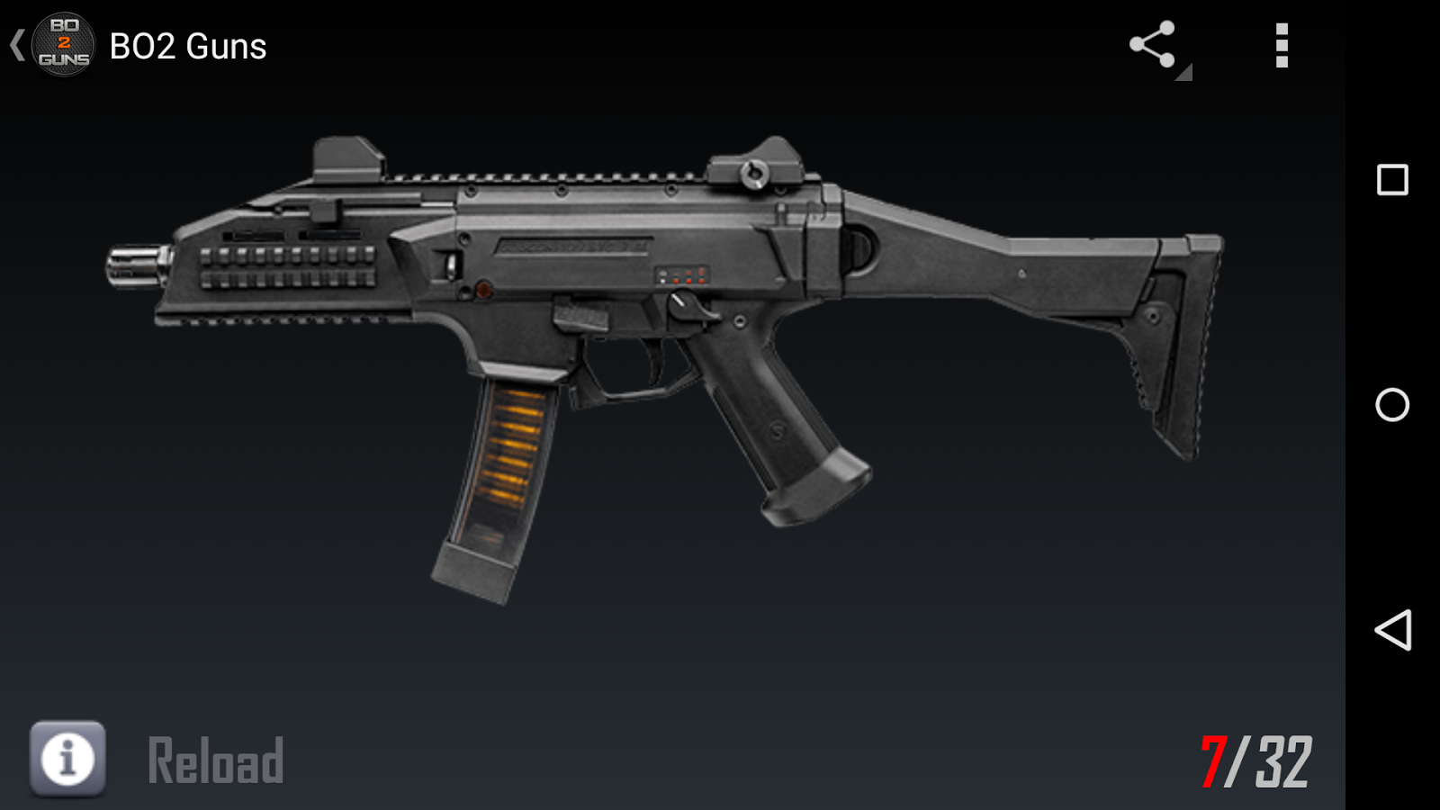 Guns for BO2- screenshot