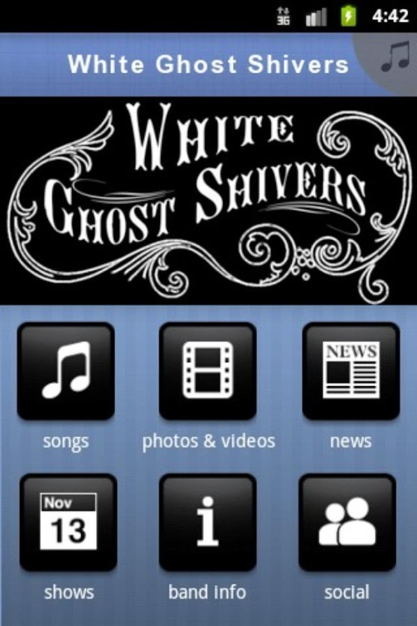 White Ghost Shivers - screenshot