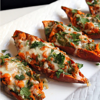 Chipotle Twice Baked Sweet Potatoes.