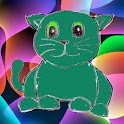 Jumping Doodle Cat icon