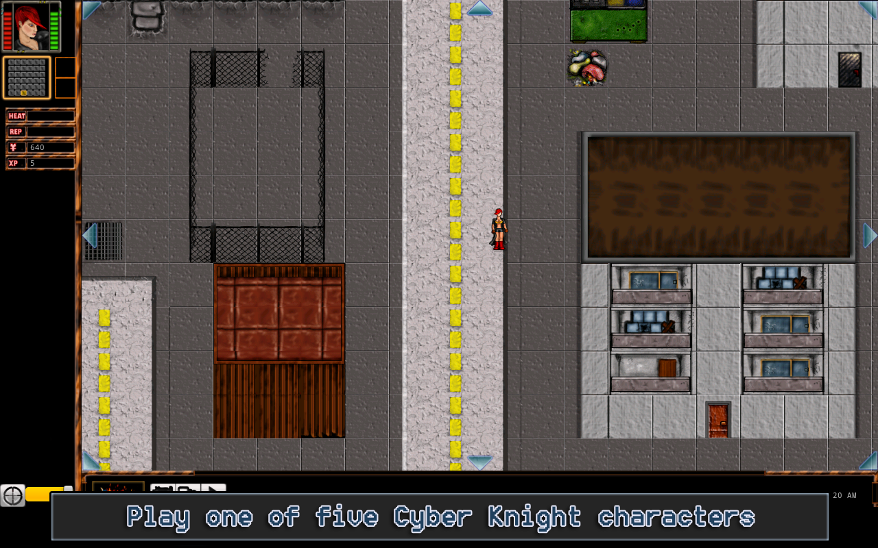 Cyber Knights RPG Elite - screenshot