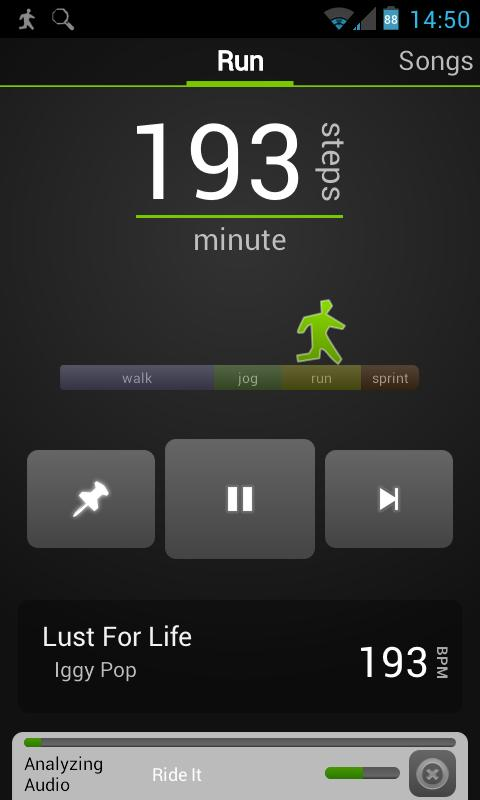 DjRun: Running with Music - screenshot