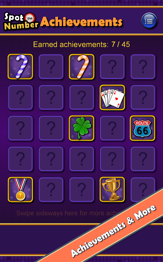 Screenshots of Spot the Number Twisted BINGO for iPhone
