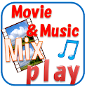 Movie&Music MixContinuous play icon