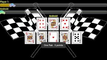 Screenshot of Race Poker Lite