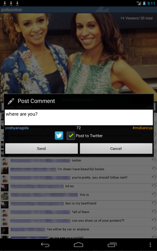 TwitCasting Viewer - (Free) - screenshot