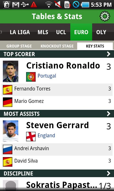 ESPN FC - screenshot