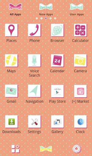 Cute Theme-Ribbons 'n' Bows- 1.0 Windows u7528 2
