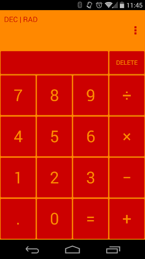 RedCalc Calculator Theme