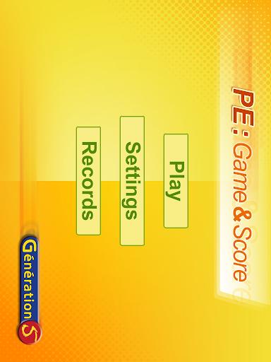 PE : Game Score