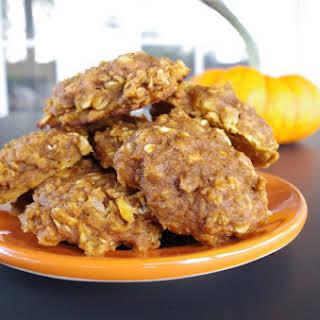 Spiced Pumpkin Oatmeal Cookies.