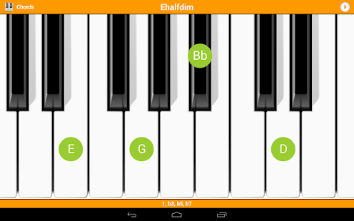 KeyChord - Piano Chords/Scales - screenshot thumbnail