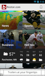 Boston.com News - screenshot thumbnail