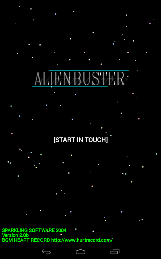 Alien Buster- screenshot