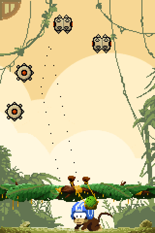 Monkey vs Robots - screenshot