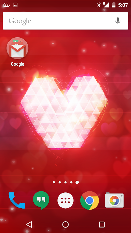 Valentines Day Live Wallpapers- screenshot