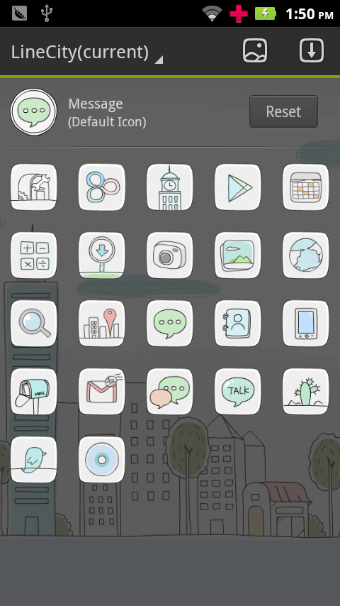 Line City GO Launcher Theme- screenshot