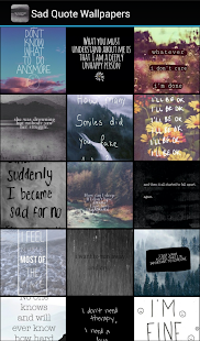Sad quote wallpapers apps on google play screenshot image voltagebd Choice Image