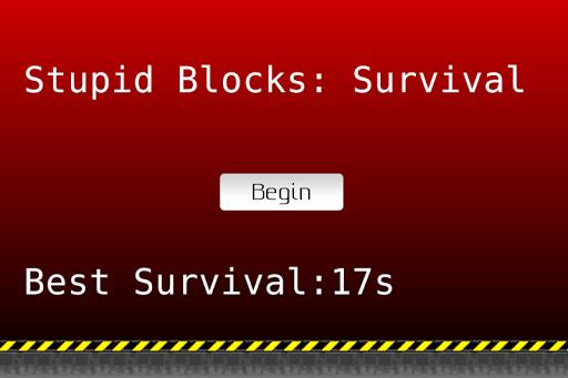Stupid Blocks: Survival