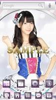 Screenshot of AKB48きせかえ(公式)柏木由紀-SS-