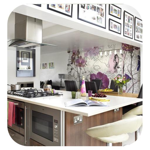 Kitchen Wall ideas LOGO-APP點子