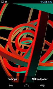 3D Hypnotic Spiral Rings PRO screenshot 7