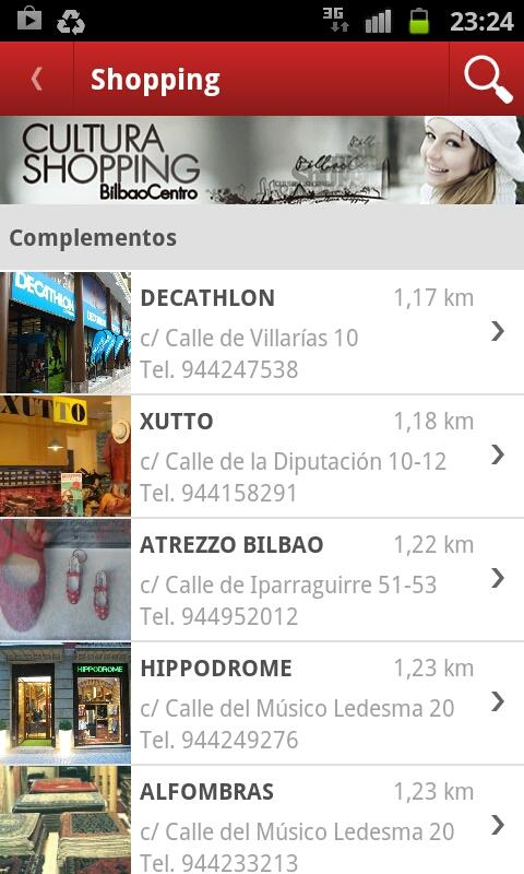 Turismo Bilbao – Screenshot