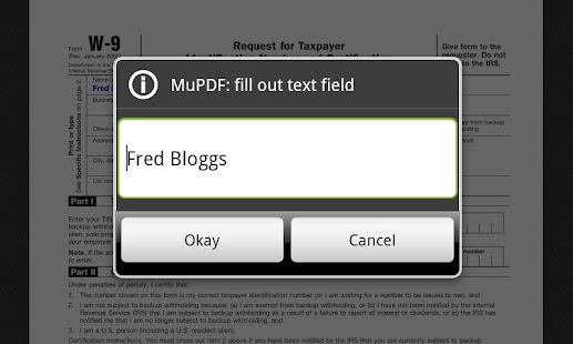 MuPDF- screenshot thumbnail