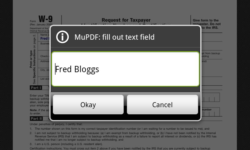 MuPDF - screenshot