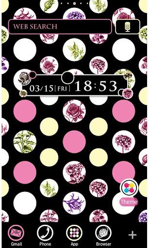 Dots & Flowers Wallpaper Theme 1.5 Windows u7528 1