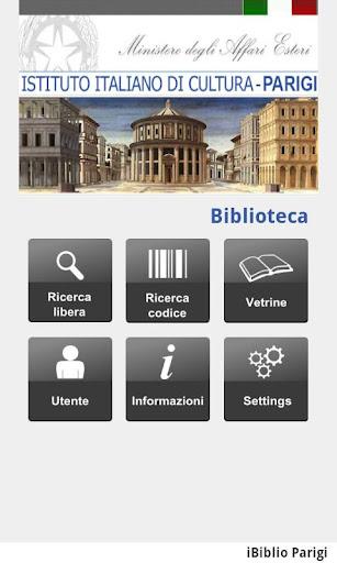 Library IIC PARIGI
