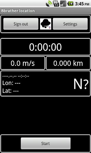 Bbrather location GPS tracker