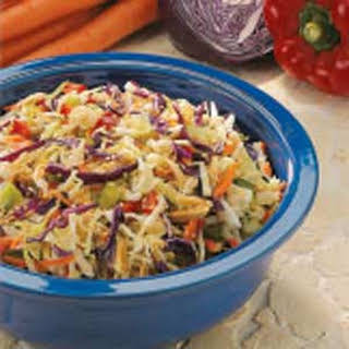 Crunchy Cabbage Salad.