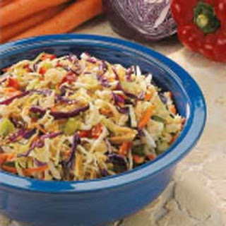 Crunchy Cabbage Salad.