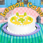 Lemon Cake Cooking