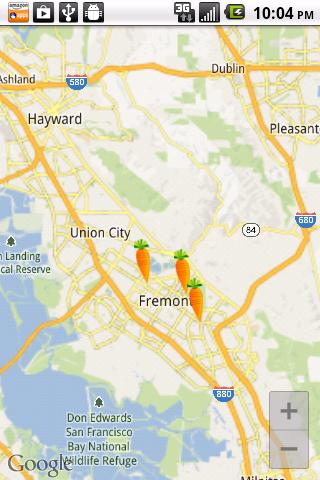 Farmers Market Locator - screenshot