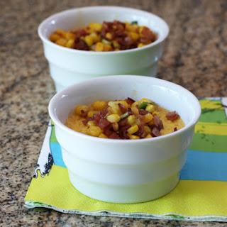 Corn and Ham Custard